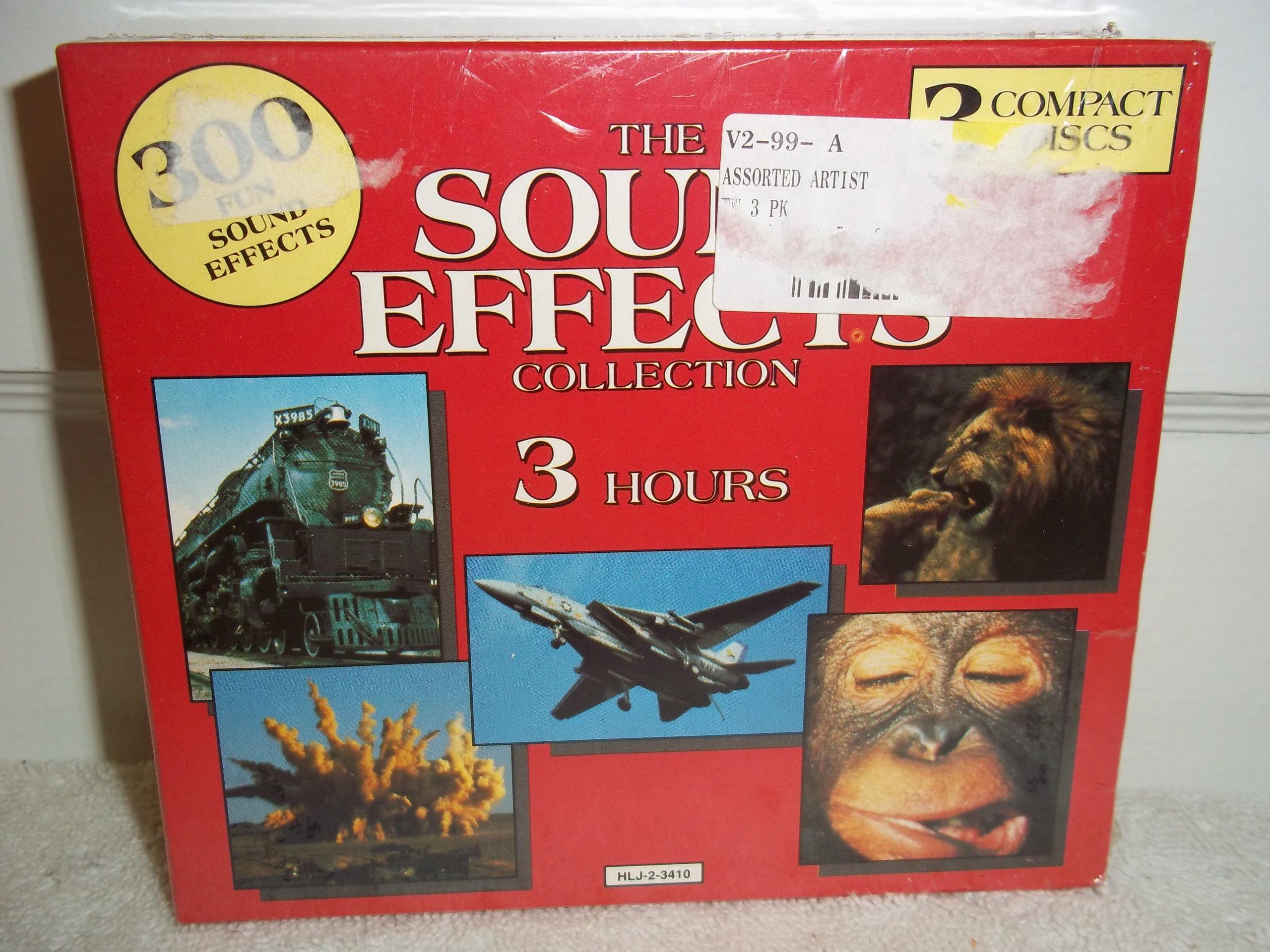 100 Sound Effects, Vol.1 - Cd, 1993