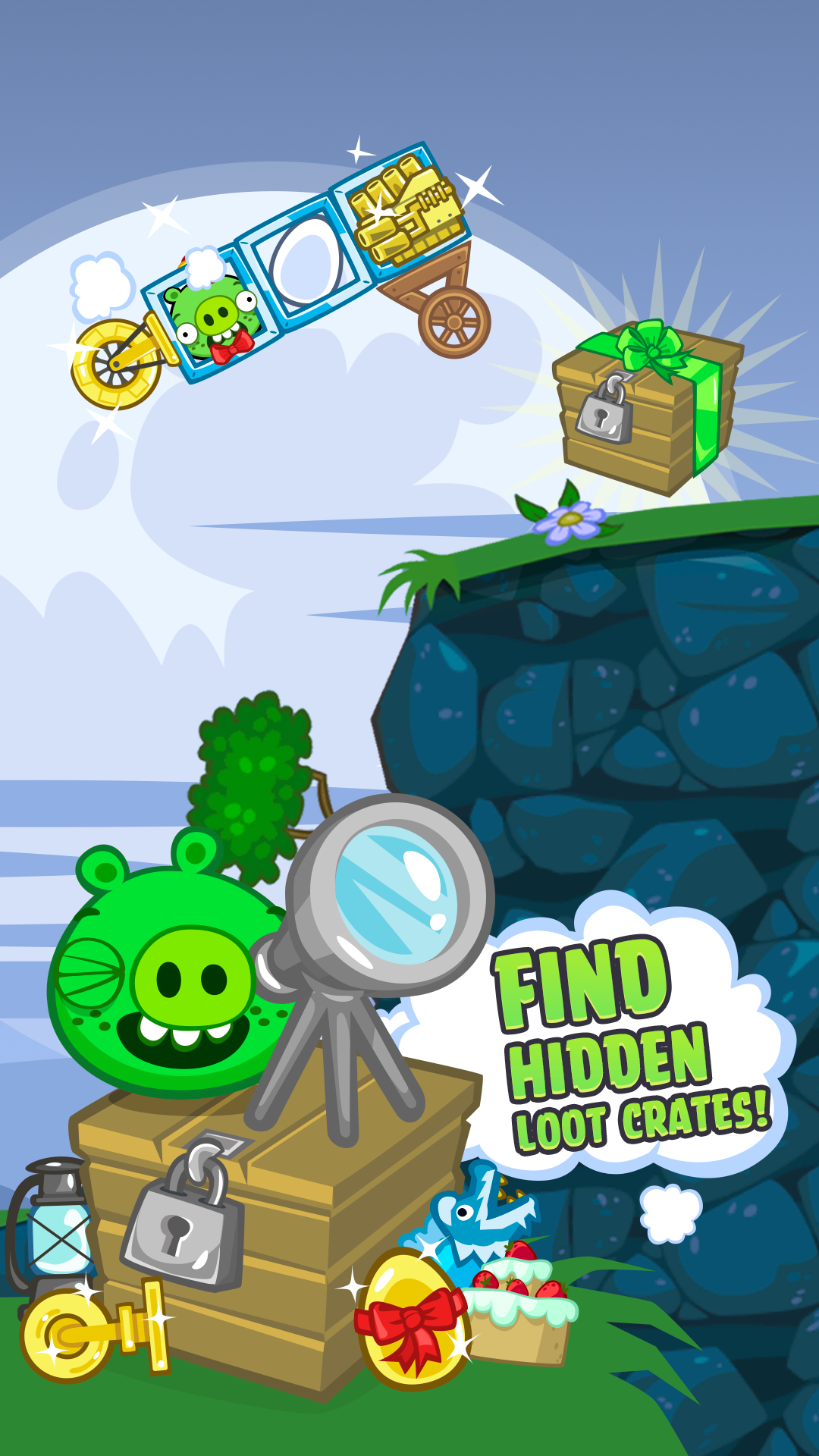 bad piggies field of dreams free download android