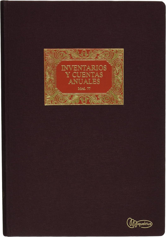 Miquel Rius 8422593050774 Libro Inventario e Conti ad Anelli