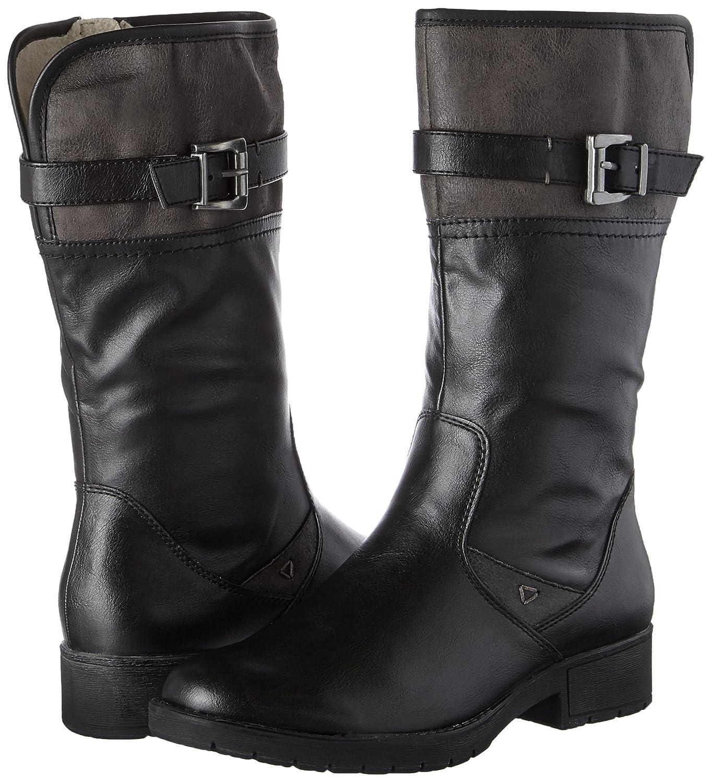 Softline Damen 25463 25463 Damen Stiefel Schwarz (schwarz) 94f271