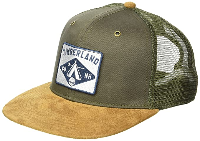 bf630ae1 Timberland Men's Trucker Cap, Grape Leaf one Size at Amazon Men's ...