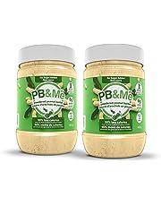 PB&Me - 2-Pack (1LB) - Natural: 100 Percent Peanuts - Powdered Peanut Butter (Sugar-Free) 2 Count