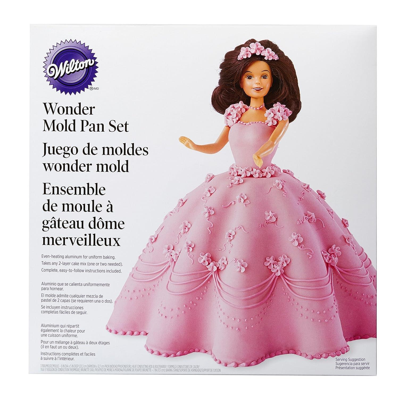 Wilton Molde para Tarta, diseño de Falda de Princesa, centimeters: Amazon.es: Hogar