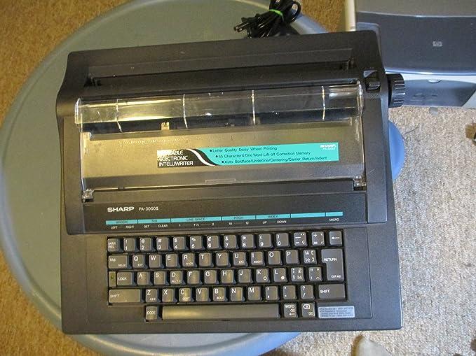 Sharp pa-3000ii electrónicos portátiles intelliwriter: Amazon.es: Electrónica