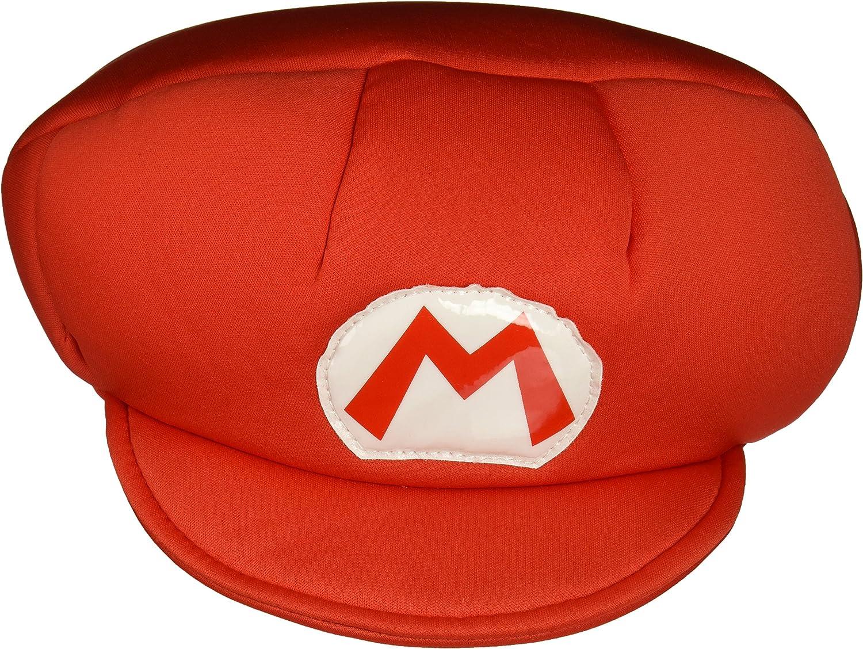 Super Mario 13369 – Gorra de Mario para niños, color rojo, talla ...