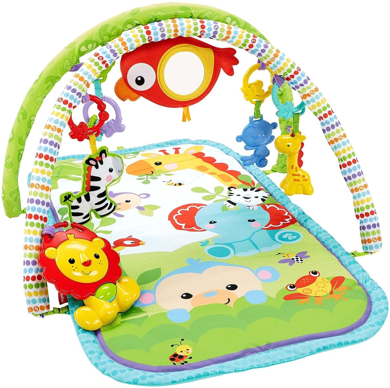 【2018?新作】 Busy Baby Gym 3-in-1 Gym (Rainforest) (Rainforest) by Baby Fisher-Price B0114WQPRY, 森山農園&カメラ:26bad69a --- irlandskayaliteratura.org