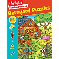 Barnyard Puzzles (Highlights™ Sticker Hidden Pictures®)