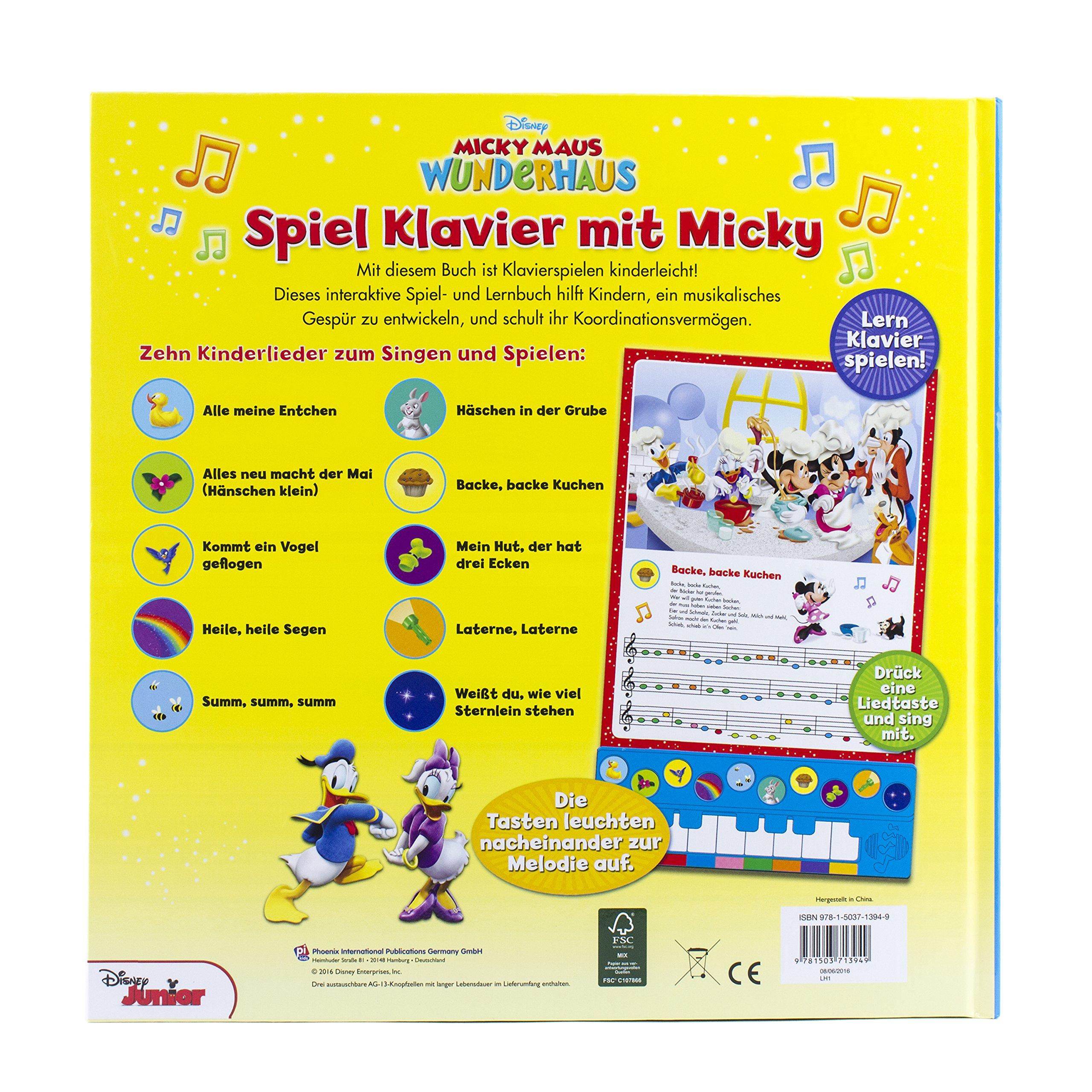 Spiel Klavier Mit Micky Disney Junior Liederbuch Mit