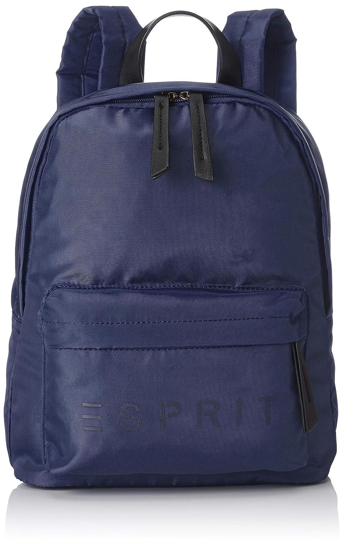 58b94d64 Esprit Accessoires - 088ea1o051, Mochilas Mujer, Azul (Navy), 12x32x26 cm  (B x H T): Amazon.es: Zapatos y complementos