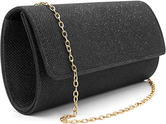 Ladies Faux Patent Leather Clutch Hand Bag Party Office Women/'s Fashion New Size