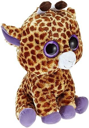 Ty - Safari, peluche jirafa, 40 cm, color amarillo (36801TY)