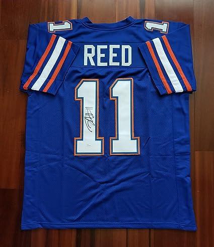 new products 8bb84 4f18d Jordan Reed Autographed Signed Jersey Florida Gators JSA at ...