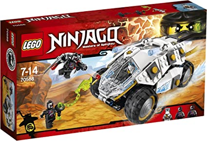 Amazon.com: Lego Ninja Go titanium type power Mobil 70588 ...