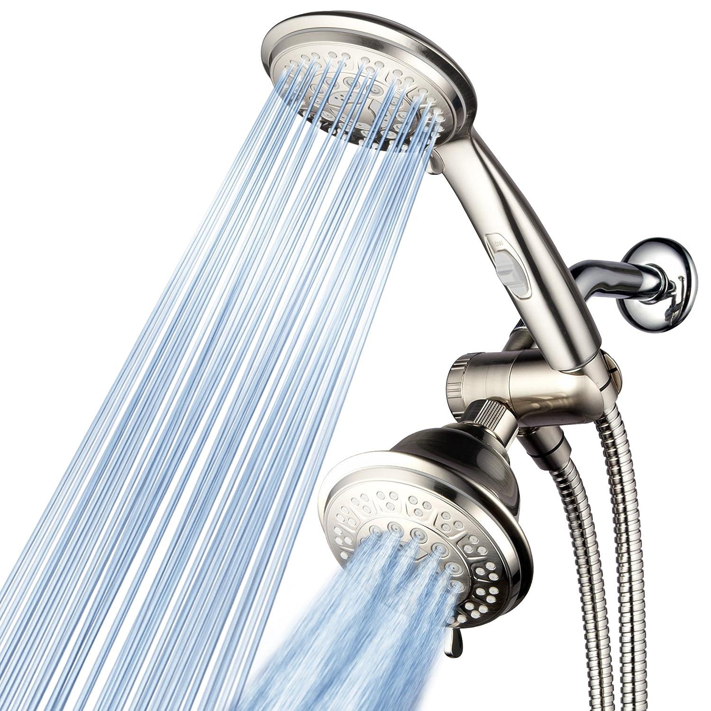 Amazon.com: HotelSpa® 42-Setting Ultra-Luxury 3 Way Shower-Head ...