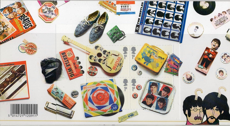 Briefmarken Pr/äsentation Heftchen 2007 The Beatles