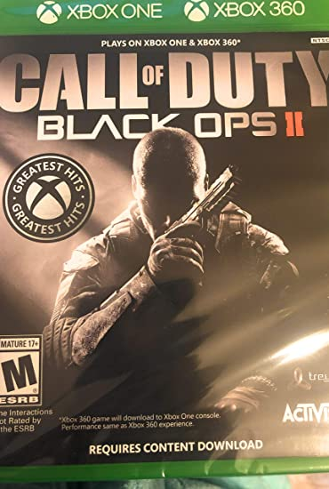 Call of Duty Black Ops II Xbox One & Xbox 360 vídeo Juego: Amazon ...
