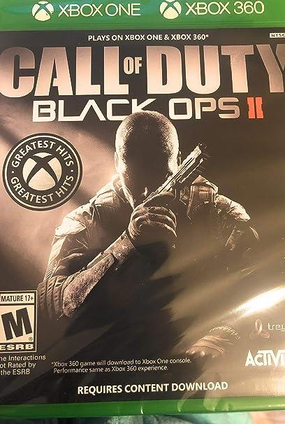 Call of Duty Black Ops II Xbox One & Xbox 360 vídeo Juego: Amazon.es: Electrónica