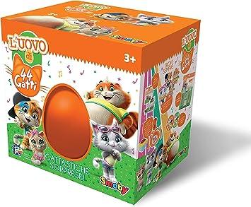 Imagen deSmoby-7106600079 - Huevo de los 44 Gatos, Color Naranja, 7106600079
