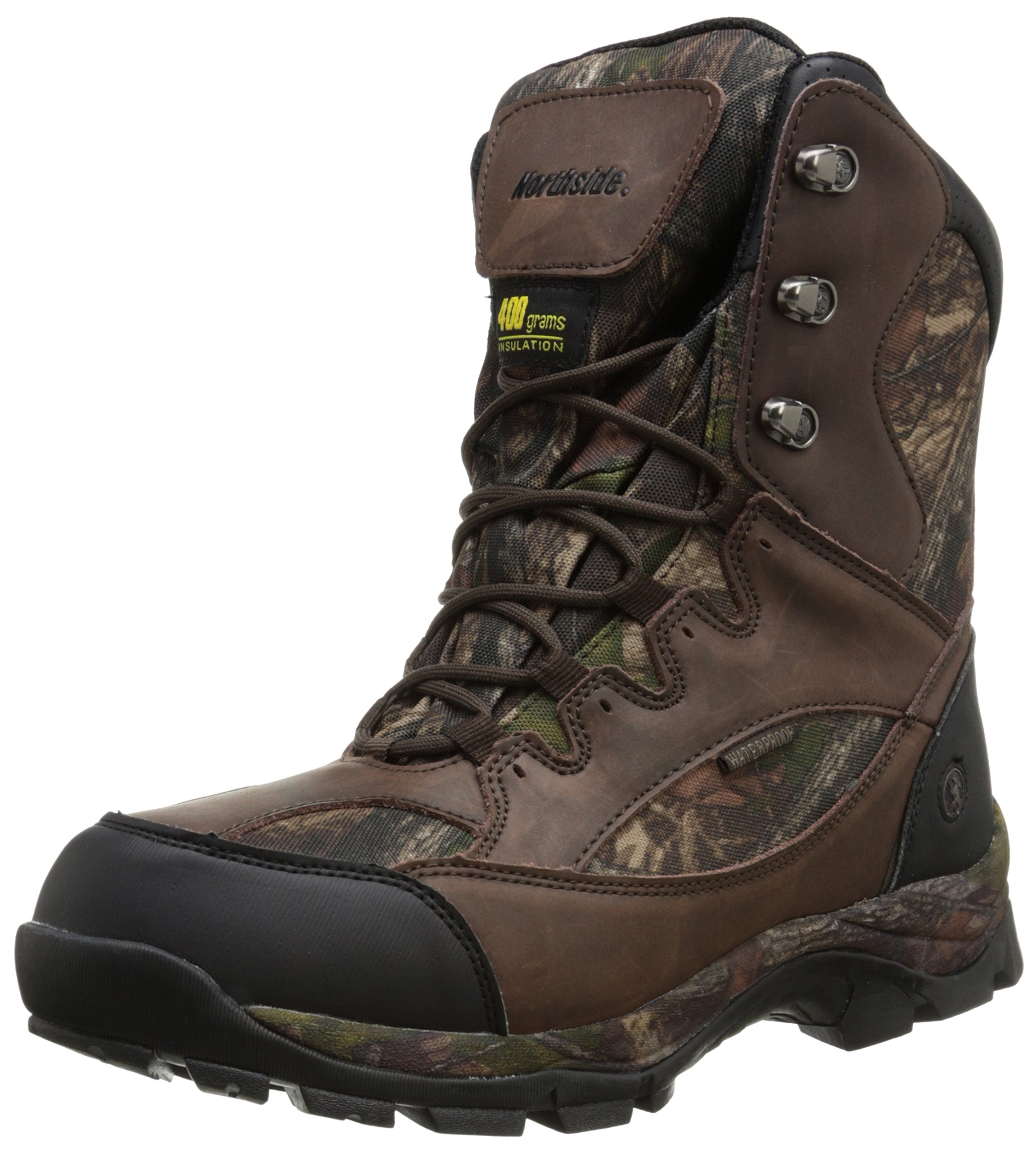 Northside Men's Renegade 400 Lace-Up Hunting Boot,Brown Camo,8 M US