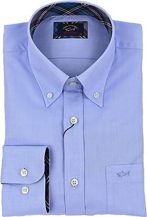 PAUL & SHARK - Camisa Casual - para Hombre (Nd) 33 W/34 L: Amazon.es: Ropa y accesorios