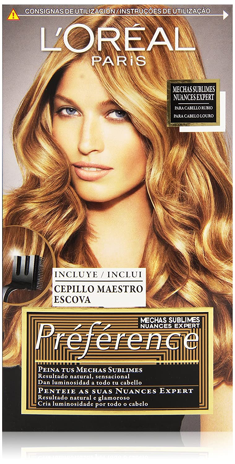L'Oréal Préférence Mechas Sublimes Prefrerence, Tono: 002 Dark to Light Blond L' Oréal 913-21956