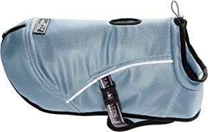 Hurtta Pet Collection Cooling Coat, 12-Inch Length, 14-Inch Neck, 16-21-Inch Chest, Blue