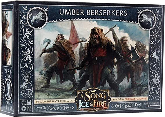 CoolMiniOrNot CMNSIF103 Thrones A Song of Ice and Fire Miniatures Game: Umber Berserkers Expansion, Multicolor: Amazon.es: Juguetes y juegos
