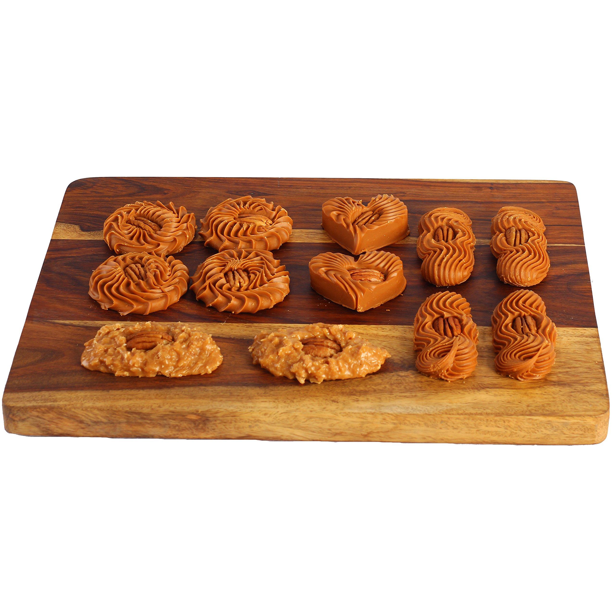 Yajua Candies: Jamoncillo Variety Box, Dulce De Leche Made Fresh in Texas [12 Pack]; 100%! by Yajua Candies, Inc.