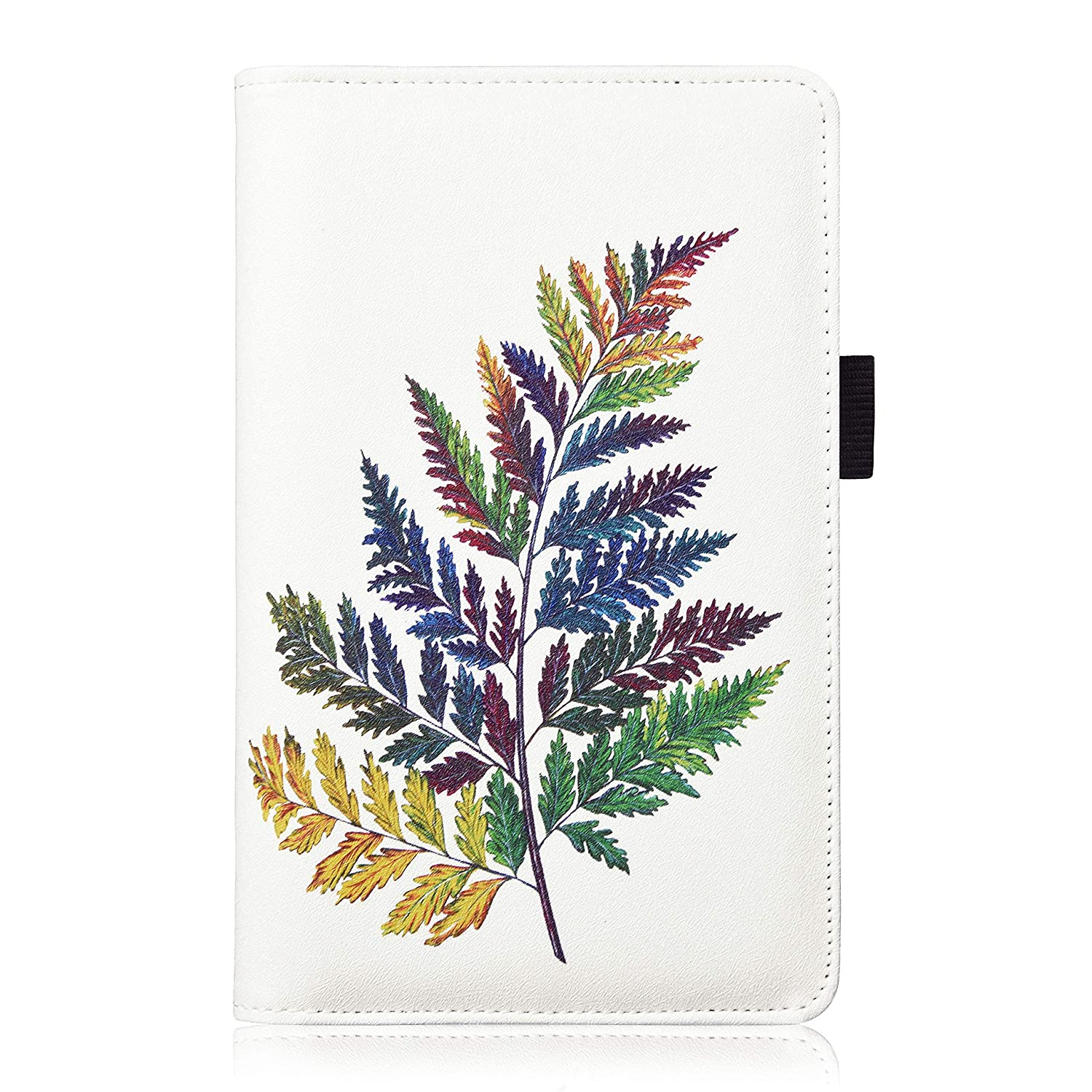 YOMFUN Plant Server Book for Waitress Book,Server Wallet Waiter Book Server Check Book Cute Serving Book Restaurant Waitstaff Book Colored-Leaf Guest Check Book Holder 5X 7.7