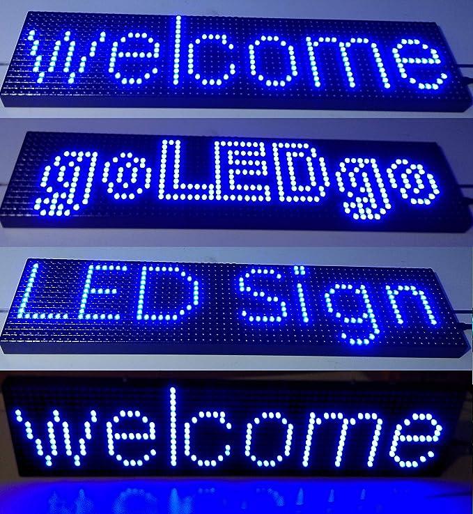 Amazon.com: GoLEDgo - Señal LED programable de ...