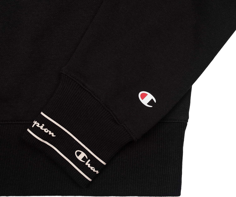 Champion Women Sweatshirt Crewneck 111982 Black (Nbk)