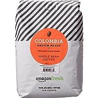 AmazonFresh Colombia Whole Bean Coffee, Medium Roast, 32 Ounce