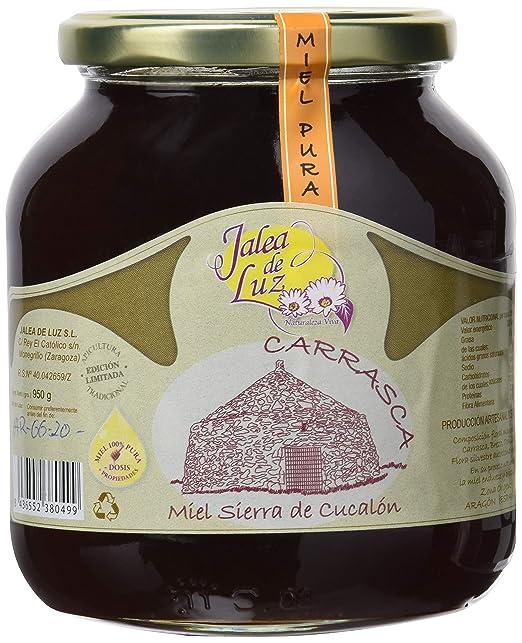 Jalea de Luz Miel Cruda Pura de Carrasca - 950 gr.: Amazon.es ...