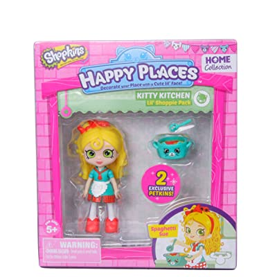 Happy Places Shopkins Single Pack Spaghetti Sue: Toys & Games
