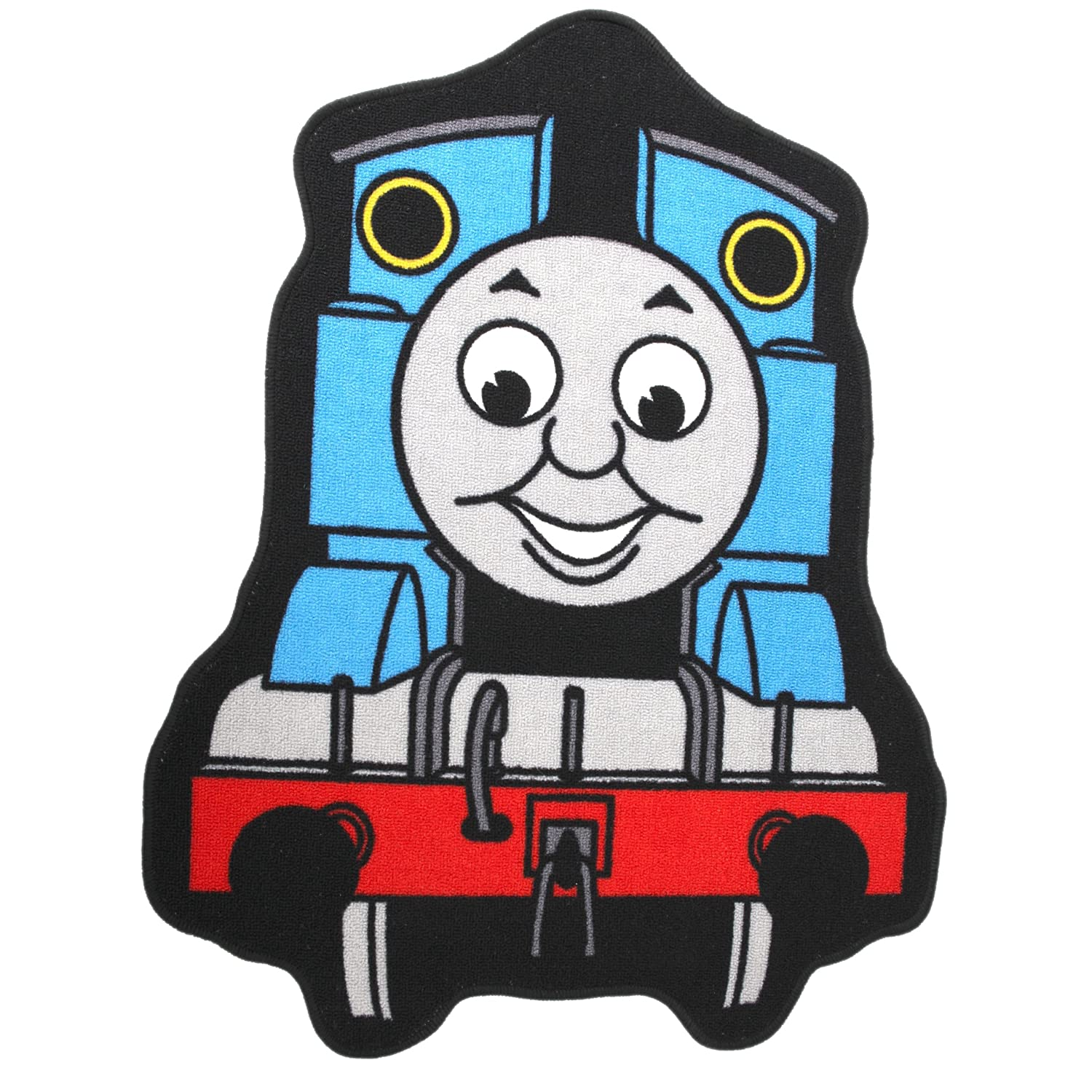 Childrens/Kids Boys Thomas The Tank Engine Bedroom Floor Rug/Mat (84cm x 67cm) (Blue/Red) Universal Textiles