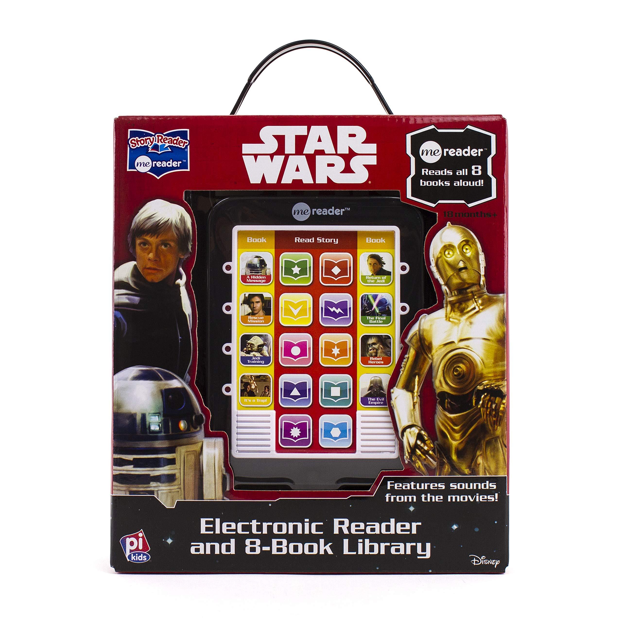 46acdbbbd7360 Star Wars Original Trilogy Me Reader 8 Book Library - PI Kids Hardcover –  Sound Book, October 1, 2015