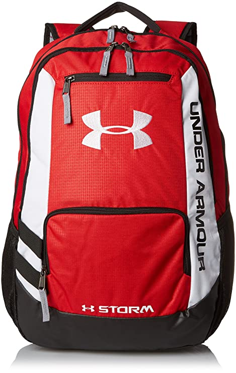ed589f3a13 Under Armour UA Hustle Storm Backpack One Size Fits All  Amazon.in   Electronics