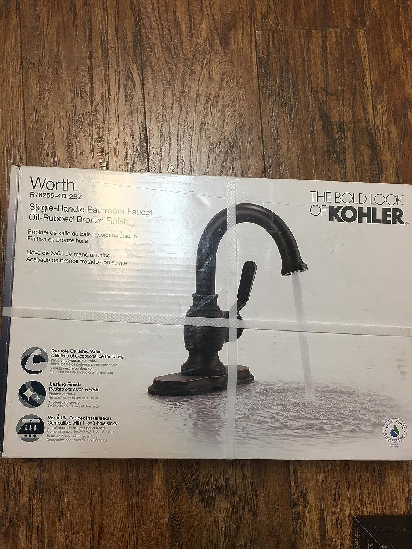 Salle De Bain Frise Douche ~ kohler r76255 4d 2bz worth single handle 1 hole bathroom faucet oil