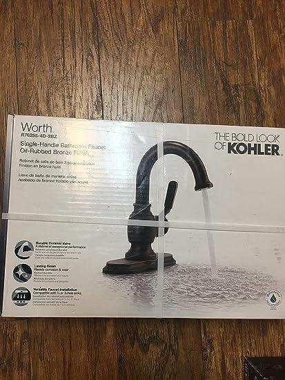 Kohler RDBZ Worth Single Handle Hole Bathroom Faucet Oil - Kohler worth bathroom faucet