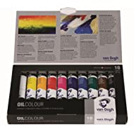 Van Gogh Oil Colour 10x20ml Basic Tube Set