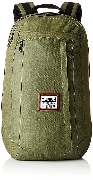 Munich Backpack PACHT I, Mochila Unisex Adulto, Verde (Khaki) 19x47x33 cm (W x H x L): Amazon.es: Zapatos y complementos