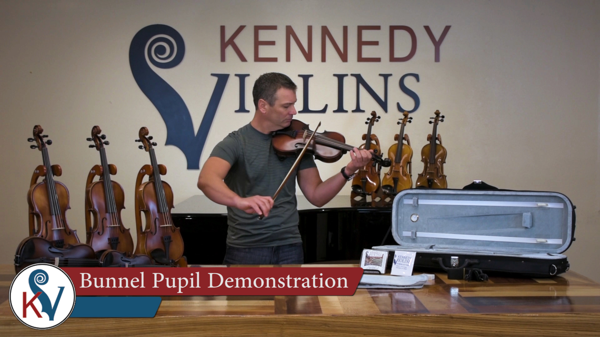 bunnel pupil clearance student violin outfit  4  4