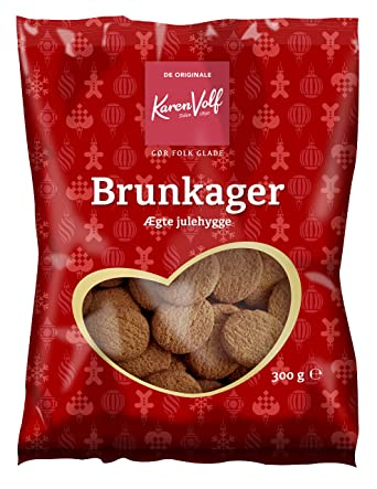Danish Brunkager Ginger Biscuits 300g