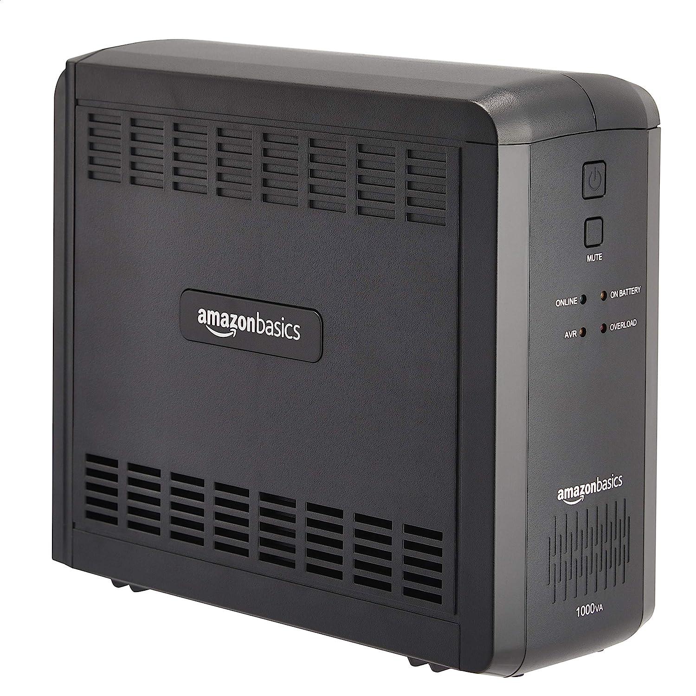 9 Outlets Basics Line-Interactive UPS 1000VA 550 Watt