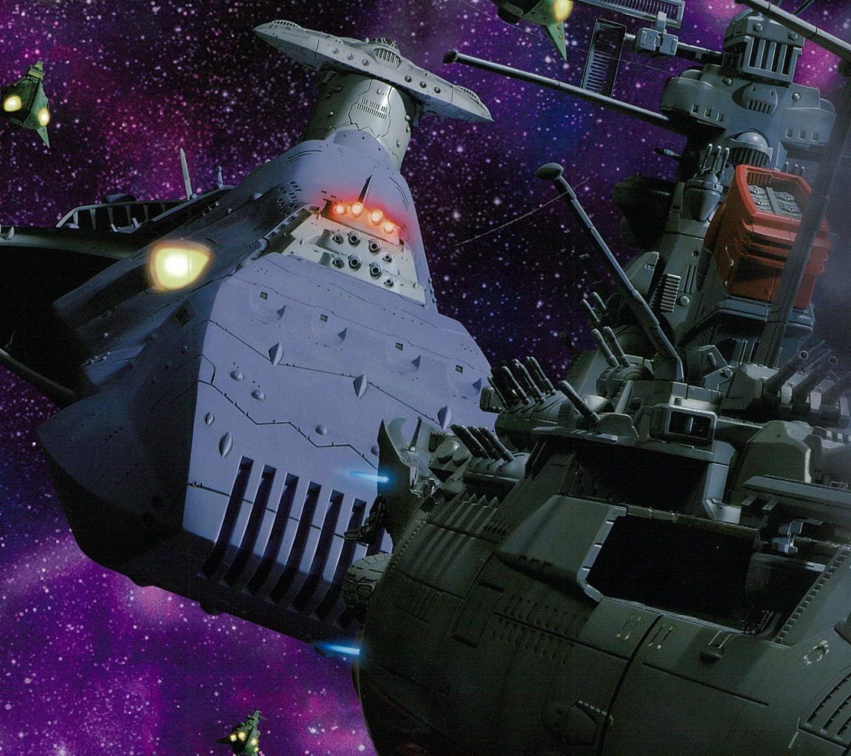 宇宙戦艦ヤマト ガミラス艦隊集結 HD(1440×1280)スマホ 壁紙・待ち受け