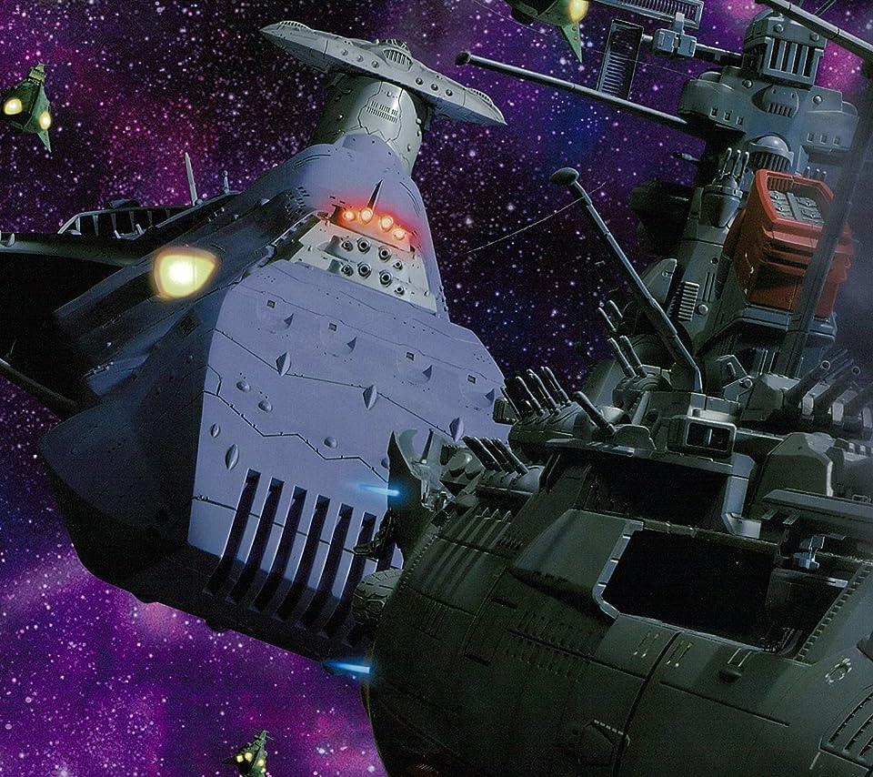 宇宙戦艦ヤマト Android 960 854 待ち受け ガミラス艦隊集結 アニメ