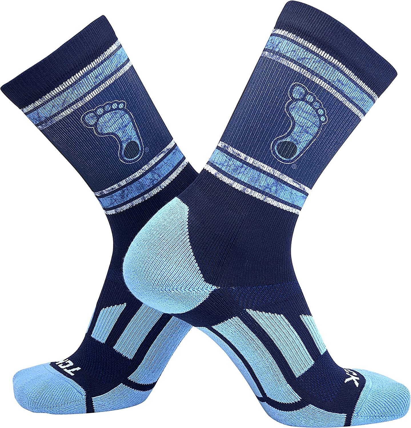 North Carolina Tar Heels Socks Woodland Camo Crew