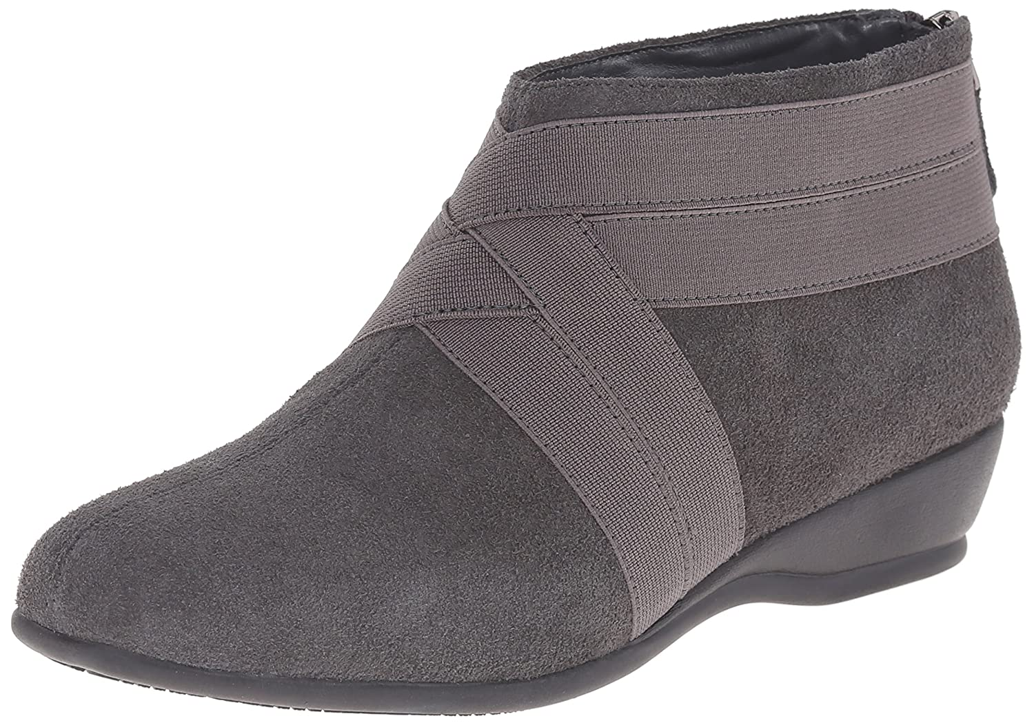 Trotters Women's Latch Boot B00RZSPY60 8 N US|Dark Grey Suede