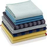 E-Cloth Microfiber Home Cleaning Set for Nontoxic Cleaning with Just Water, 8 Cloth Set