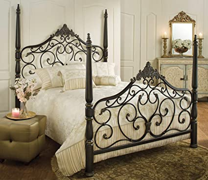 b2a3c4f73d9c Image Unavailable. Image not available for. Color  Hillsdale Furniture  1450BKR Parkwood King Bed Set with Rails